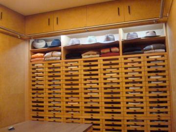 Frentes de cajónes en vestidor