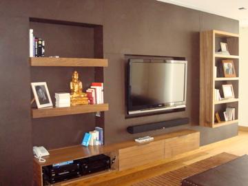 Muro Librero TV 2