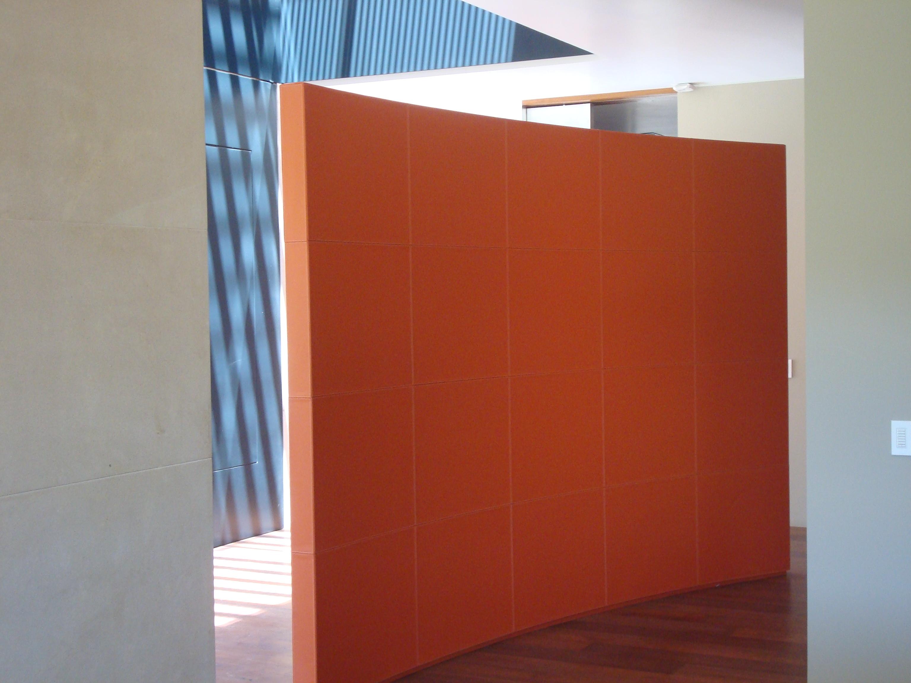 Muro divisorio en casa habitación
